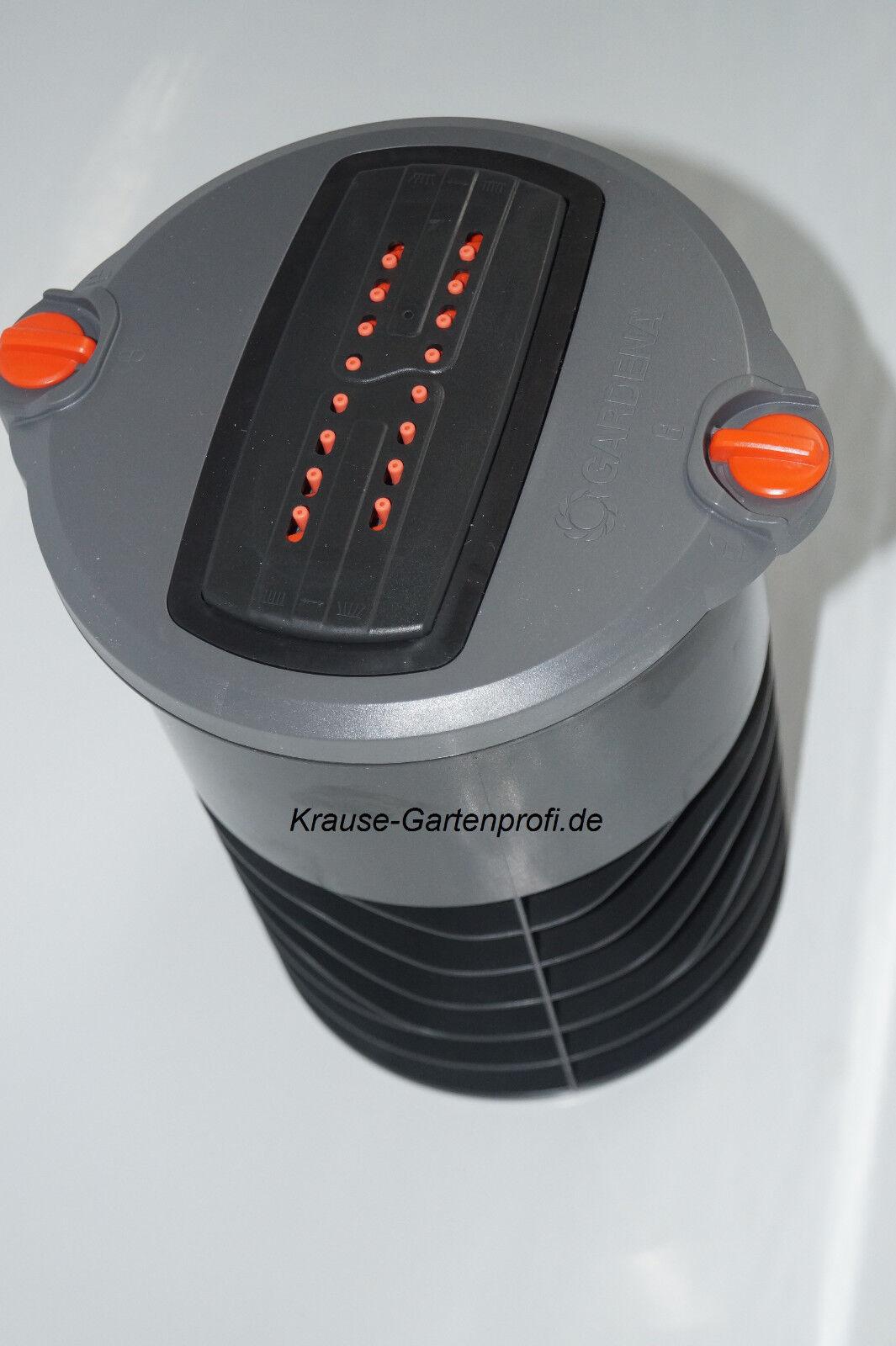 GARDENA Versenk-Viereckregner OS140, 8220, L-Stück Deckel, Schacht, Mini-Regner
