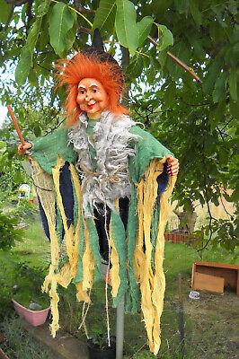 1-40 cm-Fliegende Hexe,Kräuterhexe-liebes - Fliegende Halloween Dekoration