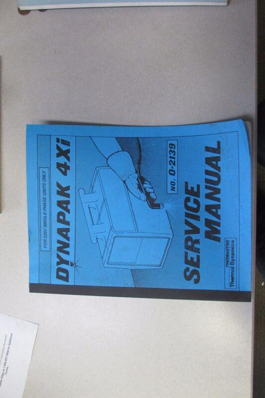 Thermadyne Thermal Dynamics Dynapak 4Xi Service Manual