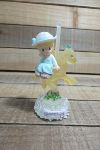 Small Plastic Precious Moments Figurine, Summer