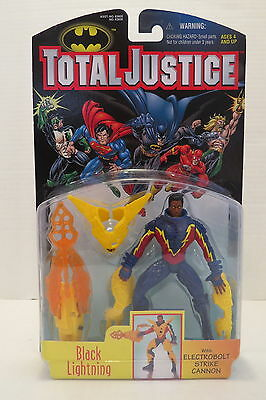 Batman Total Justice BLACK LIGHTING 1997 Action Figure
