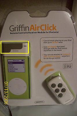 Griffin AirClick Mini Remote Control for iPod Mini