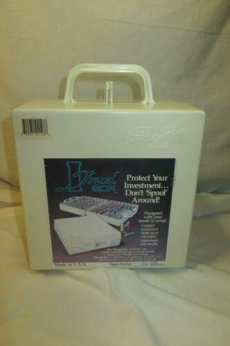 Plastic THREAD Box Carrying Case, 128 Spools
