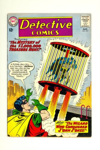 Detective Comics #313 4.0 (O/W) Very Good DC Comics 1963 Batman Silver Age