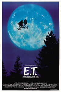 E.T.: The Extra-Terrestrial Movie Poster New 24