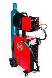 ALUMIG 350 DOUBLE PULSE SYNERGIC WATER COOLED MIG INVERTER WELDER Canning Vale Canning Area Preview