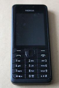 Nokia-301-Negro-Libre-Telefono-Movil-Buena-Condicion