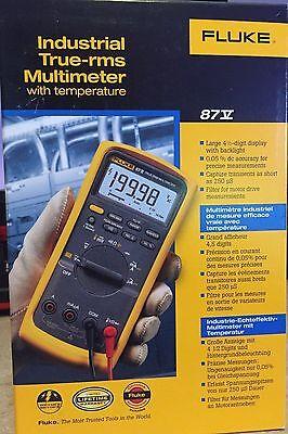 Fluke 87v Industrial Multimeter  New In Box  Msrp 385