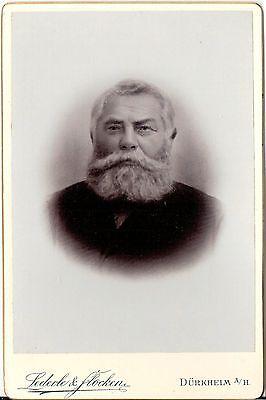 CAB photo Feiner Herr - Dürkheim um 1900