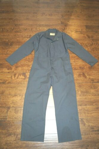 VINTAGE WORK WEAR COVERALLS SIZE 40 GRAY EUC