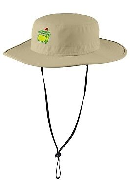 Rear Bucket - US Masters Golf Tournament  Tour Bucket hat with Rear Flap No Fly Zone