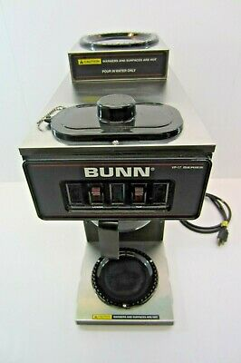Used Bunn 13300.0012 Coffee Maker Vp17-2 Stainless No Coffee Pot