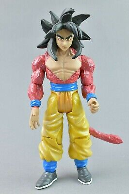 Dragon Ball Gt Ss4 Goku Metallic Version Dbz Jakks