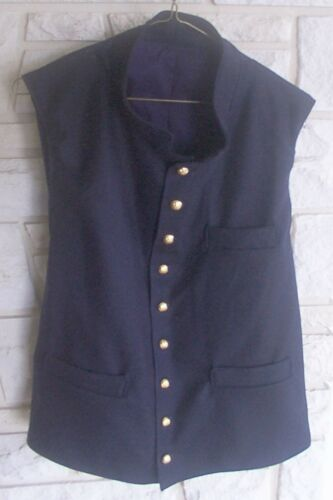 Union Vest, Navy Blue, New, Civil War