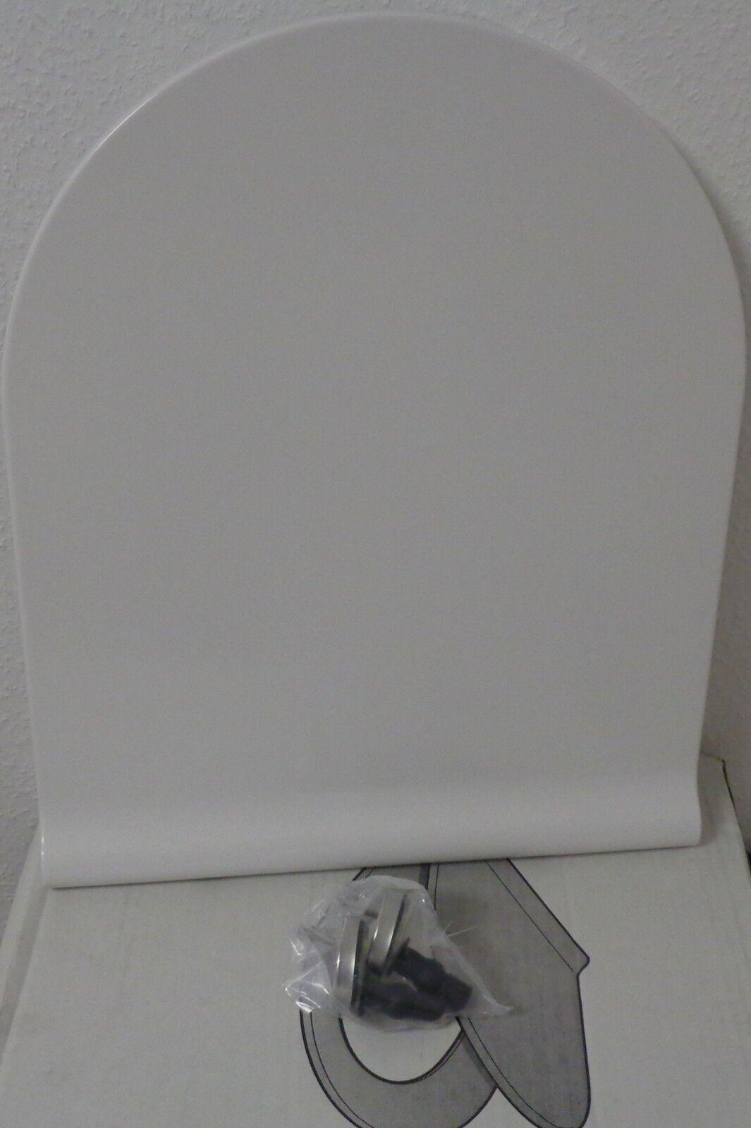WC Sitz SLIM Roca NEXO weiss mit Deckel Softclose Absenkautomatik TakeOFF