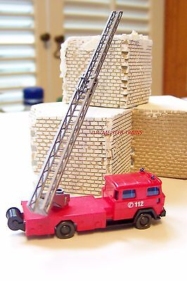 N scale Wiking 96203 Magirus DL 30 with Turntable Ladder FIRE TRUCK :NEW in Box for sale  Batavia