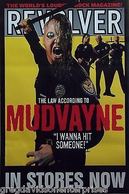 Mudvayne 24x36 Revolver Promo Poster