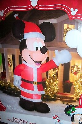 Disney Mickey Mouse 11ft Tall Christmas Airblown Inflatable