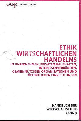 Ethik Handbuch der Wirtschaftsethik 3 von Alois Baumgartner etc. (eingeschweißt)