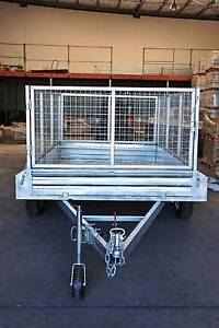 12x6 Tandem Box Trailer-  3.0T and 4 of E brake Underwood Logan Area Preview