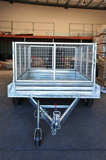 12x6 Tandem Box Trailer- fully Weld and Galvanised 900mm cage Underwood Logan Area Preview