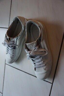 Schöne Marco Tozzi Sportschuhe Sneakers Schuhe Weiß Turnschuhe Gr. 41 feel me
