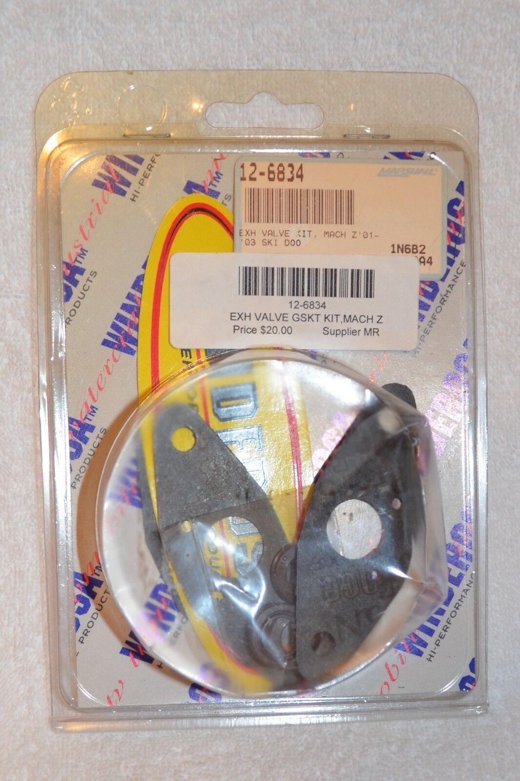 '01-'03 SKI-DOO MACH Z 800  EXHAUST VALVE GASKET KIT MACH Z800 / 719116 /12-6834