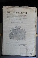 Regno Di Sardegna - Regie Patenti - 31/12/1818 - Giunta Di Liquidazione -  - ebay.it