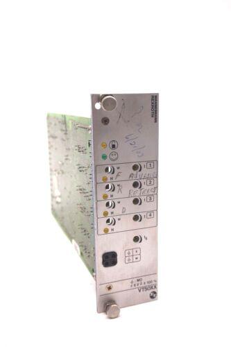 USED REXROTH VT5007-17B PC BOARD VT500717B