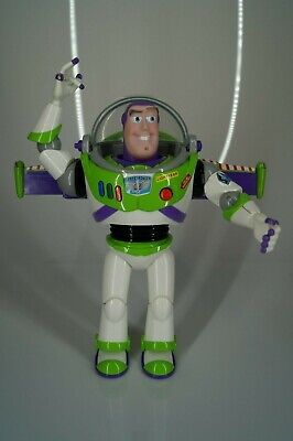 """Buzz Lightyear Toy Story Action Figure Talking Light Up 12"""" Disney Store London for sale  Shipping to India"""
