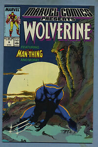 Marvel Comics Presents #8 1988 Wolverine Man-Thing
