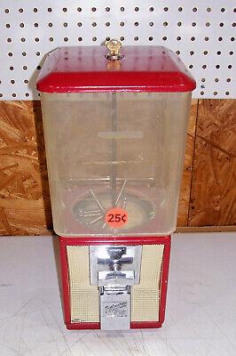 Vintage .25 Cent Northwestern Gumball Candy Store Vending Machine Old Gum Peanut