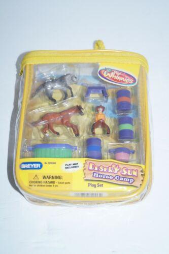 Breyer Horse Mini Whinnies RARE Desert Sun Horse Camp Play Set 720003 NEW