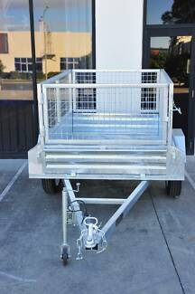 6x4 Box Trailer fully Weld and Galvanised 600mm cage Underwood Logan Area Preview