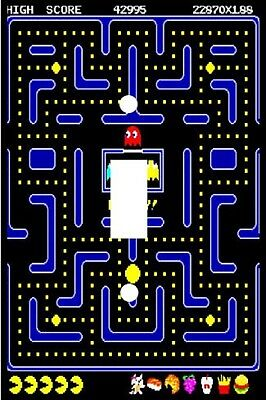 Pac-Man Arcade Game - Decorative Decoupage Light Switch Covers - Made to Order