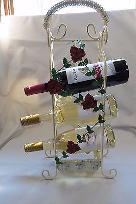 Bottle Trellis Wine Rack ( Wine Rack Wrought Iron with Rose Trellis Three)