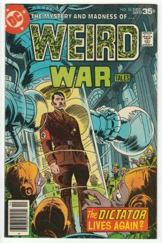 WEIRD WAR TALES #58 DEC 1977 VF- 7.5 DC COMICS HITLER COVER