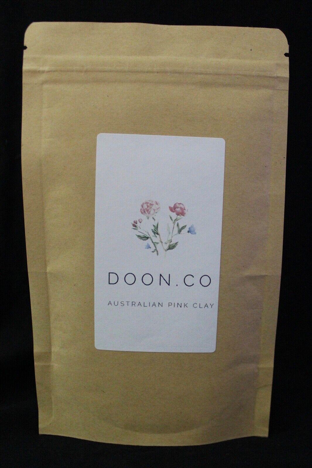 Australia Pink Clay Mask Vegan Organic Chemical Free Natural