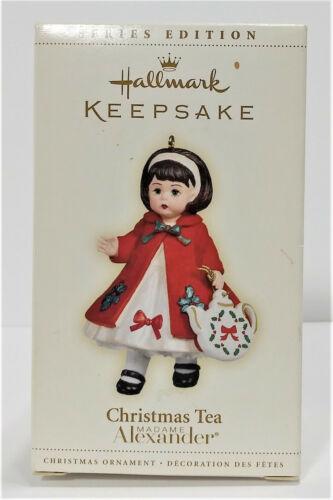 Hallmark Keepsake Ornament Christmas Tea Madame Alexander 2006