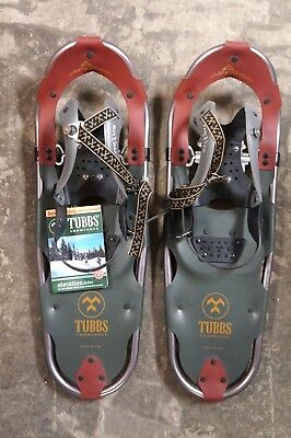 "TUBBS ELEVATION 25 X 8"" WOMEN SNOWSHOES ALUMINUM 120-200 lbs MADE IN THE USA NEW"