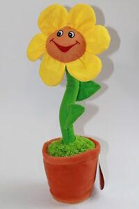 singende tanzende SONNENBLUME Geburtstag Happy Birthday flower Blume tanzt