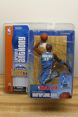 Mcfarlane Nba 6 Carmelo Anthony Action Figure Debut Denver Nuggets