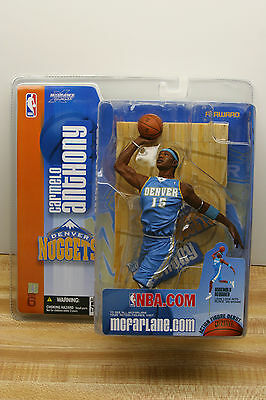 Mcfarlane Nba 6 Carmelo Anthony Action Figure Debut Denver Nuggets