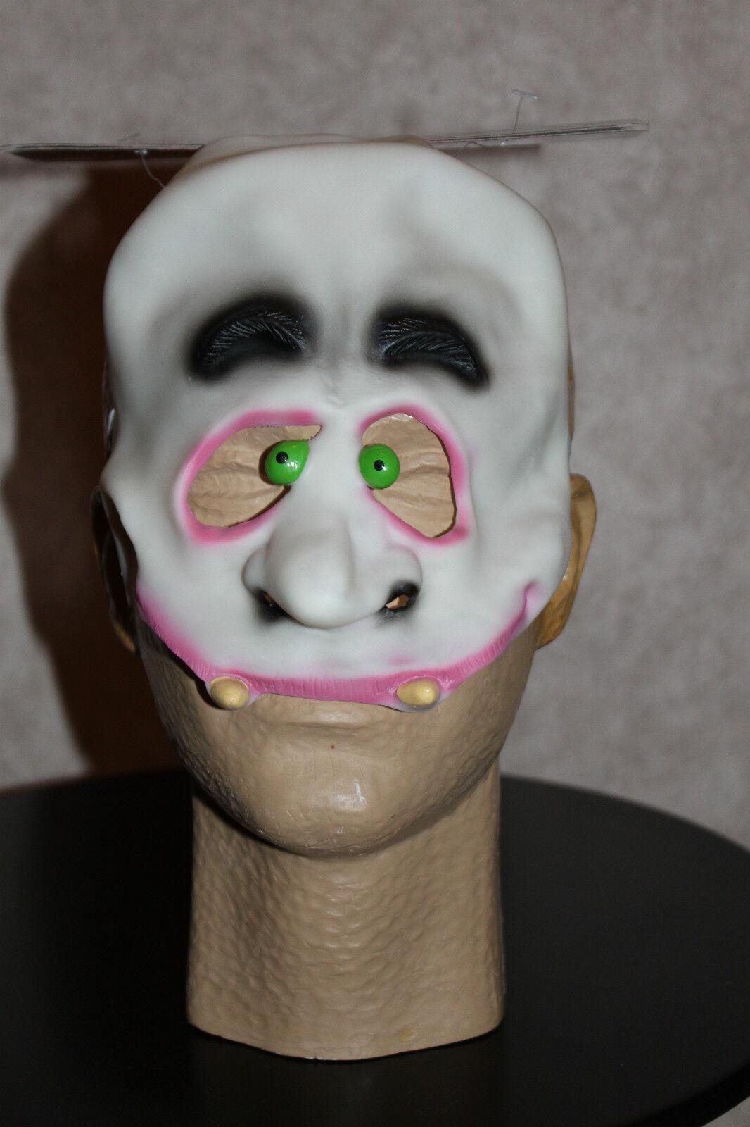 Happy Ghost Kids Mask Halloween Costume Child Boys Girls Ghoul Grimsville