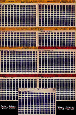 Liebherr A 902 Litronic_1992_Ersatzteilliste_Katalog_Liste_Microfiche_9 St._Fich