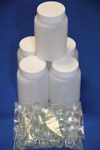 Plastic Paint Mixing 60ml Bottles set of 100 - Smart Repair