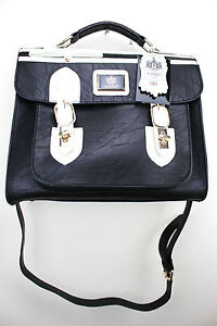 LYDC Satchel Vintage Style Messenger Shoulder Hand Bag Briefcase School Bag