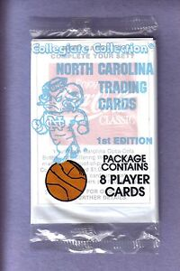 North-Carolina-Collegiate-Collection-Trading-Card-Pack-from-Box-1st-Edition