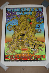 Chuck Sperry Widespread Panic Wood Tour Poster