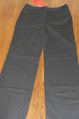 Barbara Bui Size Uk 12 Us 8 Womens Wool Black Dress Pants 33 Inseam Classy